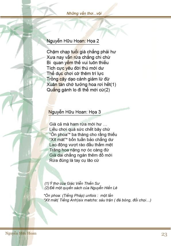 Tuổi già (thơ họa 2)