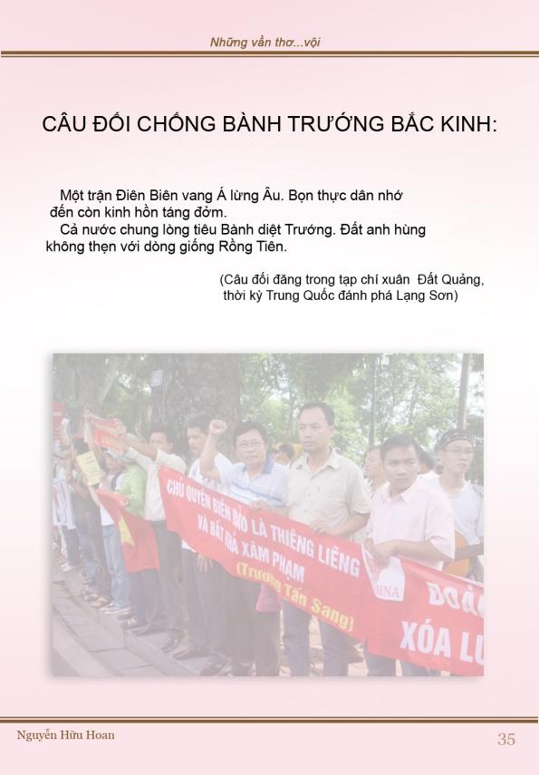 Câu đối chống bành trướng Bắc Kinh